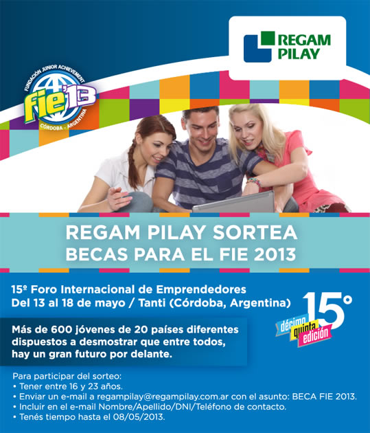 Regam Pilay - Becas Fie 2013